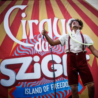 Nagy utcaszínház és lélegzetelállító cirkusz a Szigeten