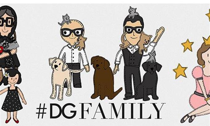 A Dolce &Gabbananál minden családnak helye van