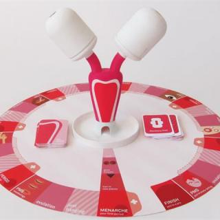 Menstruációs társasjáték segít a tabudöntésben