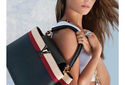 Alicia Vikander a táskareklámban