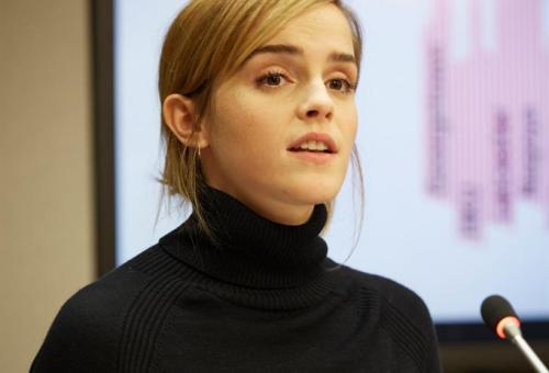 Emma Watson a kampuszokon zajló szexuális erőszakról beszélt