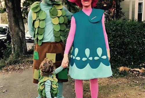 Így halloweenozott Justin Timberlake és családja