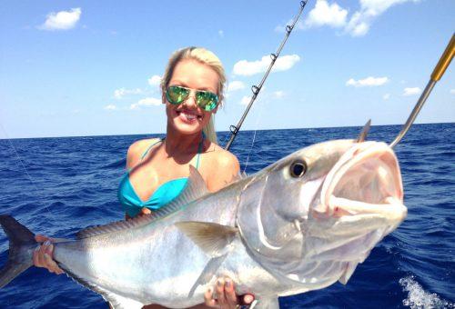 Michelle Clavatte, az egyik leghíresebb női horgász