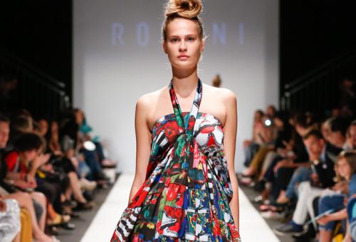 A Romani Design a Marie Claire Fashion Daysen