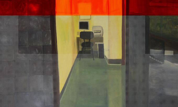 Festővászonra költöztek a kórházi folyosók