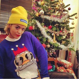 Hírességek és karácsonyfáik