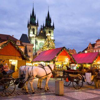 Mesebeli karácsony Prágában