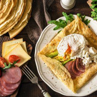 Így készülhet a palacsinta sós verzióban – ezúttal avokádóval