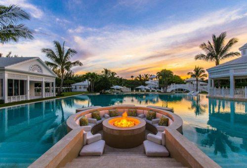 Celine Dion otthona, a béke szigete