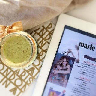 Krémes zöld smoothie