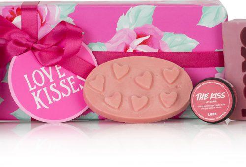 Valentin-napi csókok a masszázstömbön
