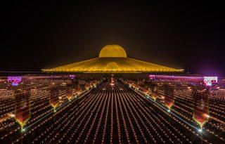 Csodálatos ünnepség Thaiföldön