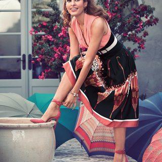 Eva Mendes csak úgy ragyog legújabb divatkampányában
