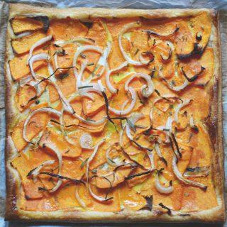 Villámgyors sütőtökös pite