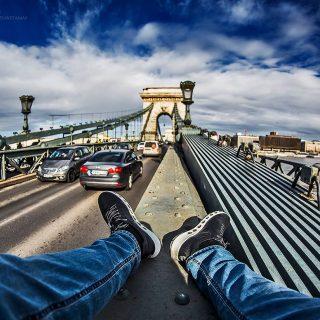 A tériszonyt nem ismerő hobbifotós budapesti képei