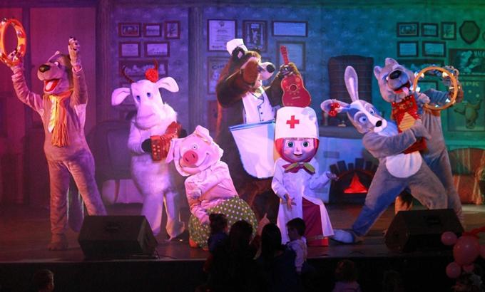 Fantasztikus mesemusical – Masha és a Medve először hazai színpadon