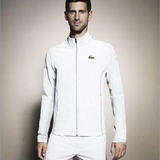 Novak Djokovics a Lacoste kampányában