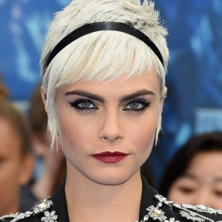 Cara Delevingne új frizurával pózol a Puma kampányában