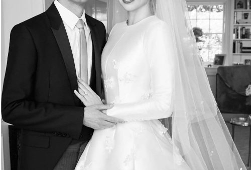 Miranda Kerr lélegzetelállítóan szép menyasszony volt