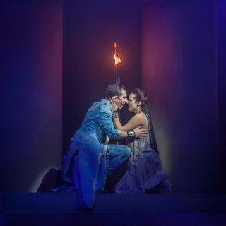 Vastag Tamás és Stéphanie Schlesser óriásit alakított az Aida musicalváltozatában
