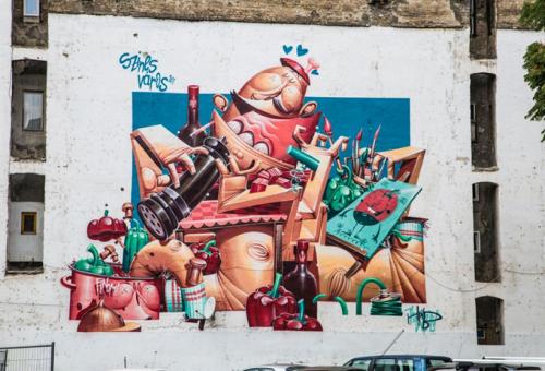 Újabb művészi tűzfalakkal gazdagodik Budapest