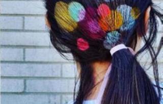 Batikolt hajfestés a legbátrabbaknak