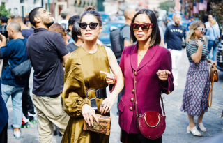 Divatdiktátorok játszótere – New York Fashion Week street style