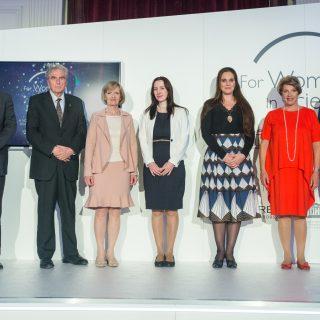 Átadták a L'Oréal-UNESCO A nőkért és a tudományért díjait