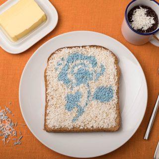 Egy szelet vajas kenyérből is lehet művészet