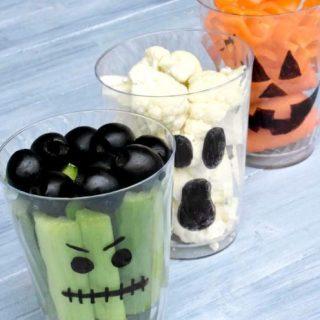 Trükkös halloweeni vendégkínálók a Pinterestről