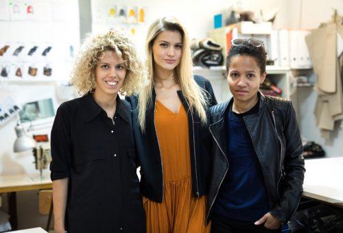 Weisz Fanni modellként a Marie Claire Fashion Days kifutóján