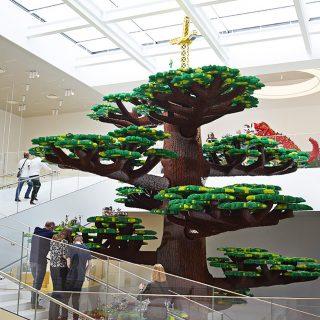 A kreativitás fája Legóból