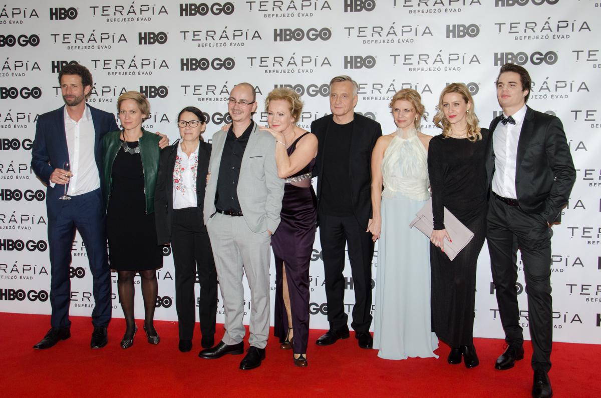 19. kép: A Terápia színészei és rendezői