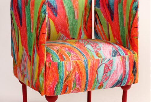 Egyedi fotel lett az autista fiatal rajzából