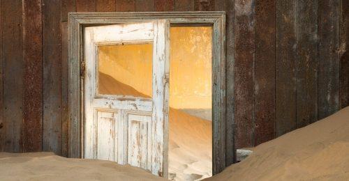 Ilyen csodálatosan néz ki a homok által beborított lakóház!