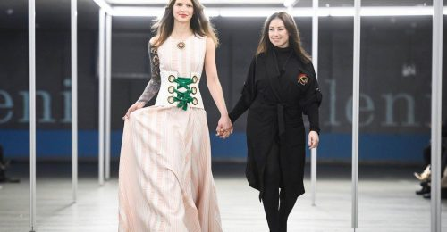 Káprázatos volt a Celeni a Ljubljana Fashion Weeken is
