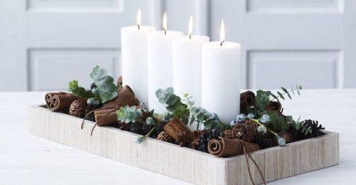 5 csodaszép, minimalista dekorációs ötlet karácsonyra