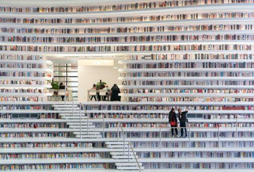 1,2 millió könyv közül válogathatunk a dizájnos könyvtárban
