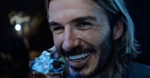 Beckham a mérsékelt alkoholfogyasztást promotálja