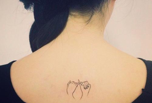 Apró, mégis látványos tetoválások a kevésbé bevállalósoknak is