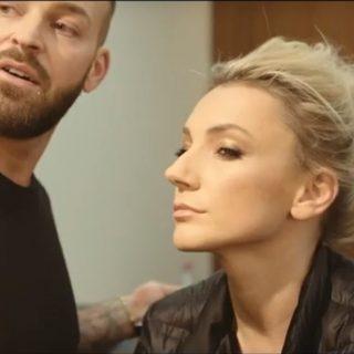 Így készült Borbély Alexandra gálasminkje – exkluzív videóval