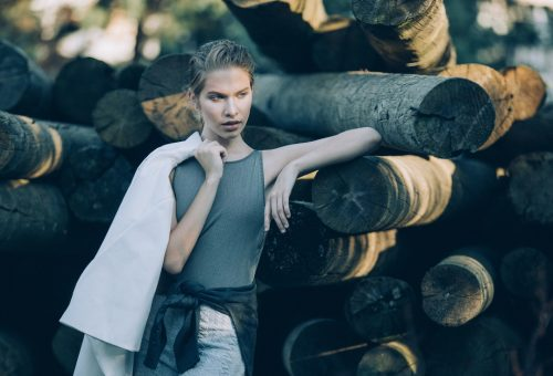 Feltörekvők: Farkas Tiffany, modell-képzőművész