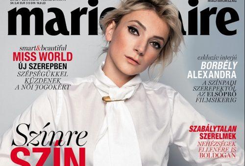 Megjelent a január-februári Marie Claire