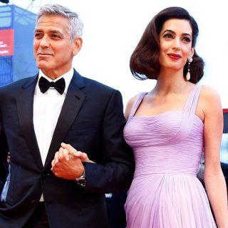 George és Amal Clooney a legjobb fej szülők