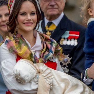Megkeresztelték a svéd kis herceget