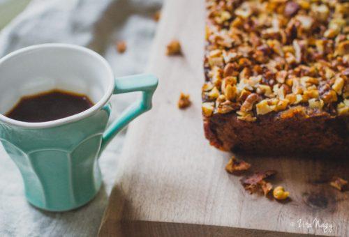 Kávés, diós süti vegán módra