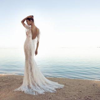 Victoria Beckhammel van versenyben a magyar tervező esküvői ruhája