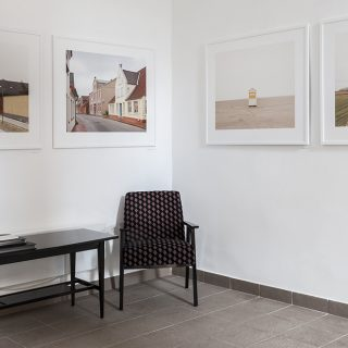 Az első egyéni kiállítás a TOBE Gallery-ben