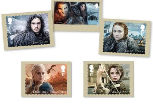 Itt vannak a Trónok harca képeslapok!