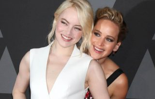 Emma Stone csúnyán felültette Jennifer Lawrence-t a Golden Globe after party-val